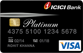 Click to Apply for Life Time Free ICICI Platinum Credit Card