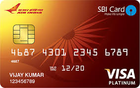 SBI Air India Air Line Credit Card
