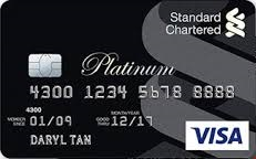 Standard Chartered Platinum Reward Card